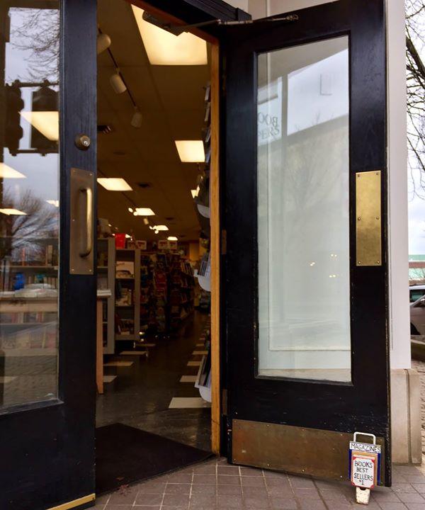 February 20.  Door open.  LOVE IT.