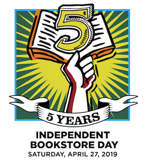 Get ready for Independent Bookstore Day this Saturday! ...